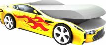 Кровать-машина Бондмобиль, желтый