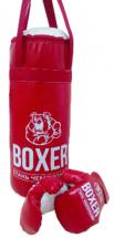 Боксерский набор Орион №3 50см, красный