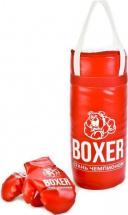 Боксерский набор Орион №1 30см, красный