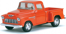 Машинка Kinsmart Chevy Stepside Пикап 1955, оранжевый