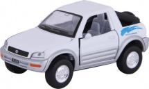 Машинка Kinsmart Toyota RAV4 Concept, белый