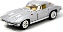 Машинка Kinsmart Corvette Sting Ray 1963, серебро