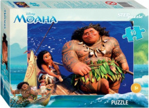 Пазлы Steppuzzle Disney Моана 80 элементов