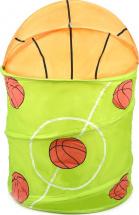 Корзина для игрушек Баскетбол 37х37х54 см