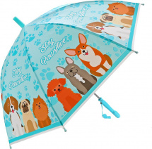 Зонт Mary Poppins Щенки 48 см полуавтомат