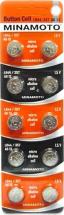 Батарейка Minamoto AG13/357/LR44 BL-10