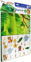 Обучающая игра Десятое королевство Магнитные истории. Джунгли