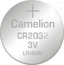 Батарейка Camelion CR2032 литиевая 1шт