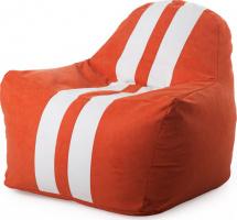 Бескаркасное кресло-мешок Sport, красный