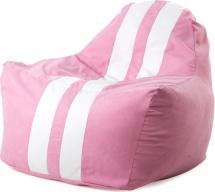 Бескаркасное кресло-мешок Sport, розовый
