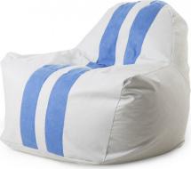 Бескаркасное кресло-мешок Sport, белый