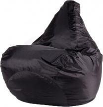 Бескаркасное кресло-мешок Груша L, черный