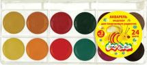Акварель медовая Каляка-Маляка 24 цвета