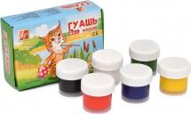 Гуашь Луч ZOO 6 цветов мини