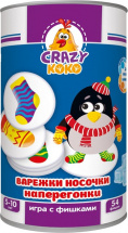 Развивающая игра Vladi Toys Варежки-носочки наперегонки
