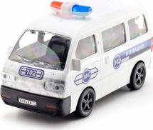 Минивен Mittivoy Полицейская машина