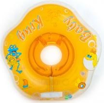 Круг на шею Baby Krug 3D оранжевый 6-18 кг