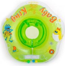 Круг на шею Baby Krug 3D зеленый 6-18 кг