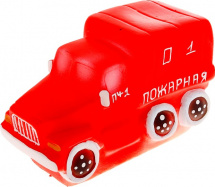 Игрушка резиновая Кудесники Машина Пожарная