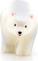 Игрушка резиновая Кудесники Белый медведь