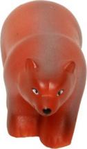 Игрушка резиновая Кудесники Бурый медведь