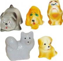 Игрушки резиновые Кудесники Собачки