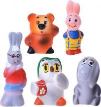 Игрушки резиновые Кудесники Винни и его друзья
