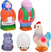 Игрушки резиновые Кудесники Курочка Ряба