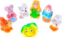 Игрушки резиновые Кудесники Репка