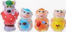 Игрушки резиновые Кудесники Три поросенка