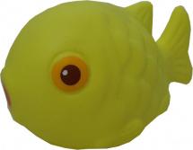 Игрушка резиновая Кудесники Рыбка Клоун