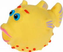 Игрушка резиновая Кудесники Рыбка-еж
