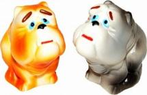 Игрушка резиновая Кудесники Собачка Боксер