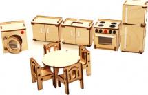 Мебель для кукольного домика Polly Кухня