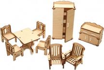 Мебель для кукольного домика Polly Зал