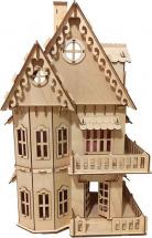 Кукольный домик Polly с занавесками
