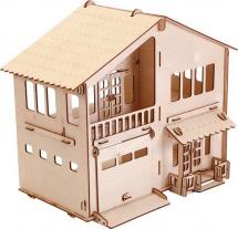 Кукольный домик Polly Дом с гаражом