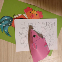 Набор для творчества Объемная хрюшка и зверюшки своими руками с наклейками