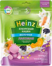 Каша Heinz Лакомая молочная кукурузная тыква-чернослив-морковь с 5 мес 170 г