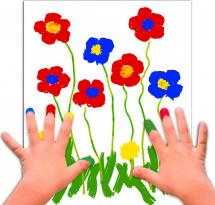 Пальчиковые краски Юнландия Сафари 4 цв 35 мл