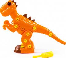 Конструктор-динозавр Полесье Тираннозавр