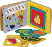 Книжки-малышки. Фрукты. Книжка-игрушка
