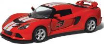 Машинка Kinsmart Lotus Exige S 2012 с полосками