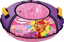 Тюбинг Ника ТБ1-70 Три кота, розовый
