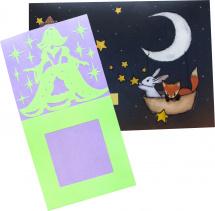 Наклейка на выключатель Freeze Light Люмастик Сказочная принцесса