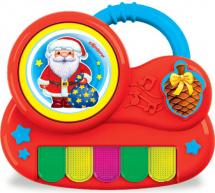 Пианино с огоньками Азбукварик Дед Мороз