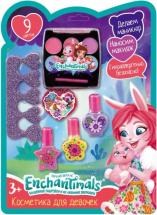 Косметика для девочки Enchantimals Набор для маникюра, тени для век
