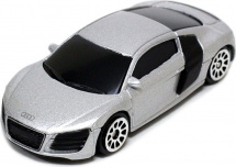 Машинка AutoTime Audi R8 V10, серебристый
