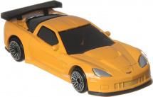 Машинка AutoTime Chevrolet Corvette С6-R, желтый