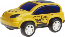 Машинка AutoTime Cartoon Offroad Car, желтый